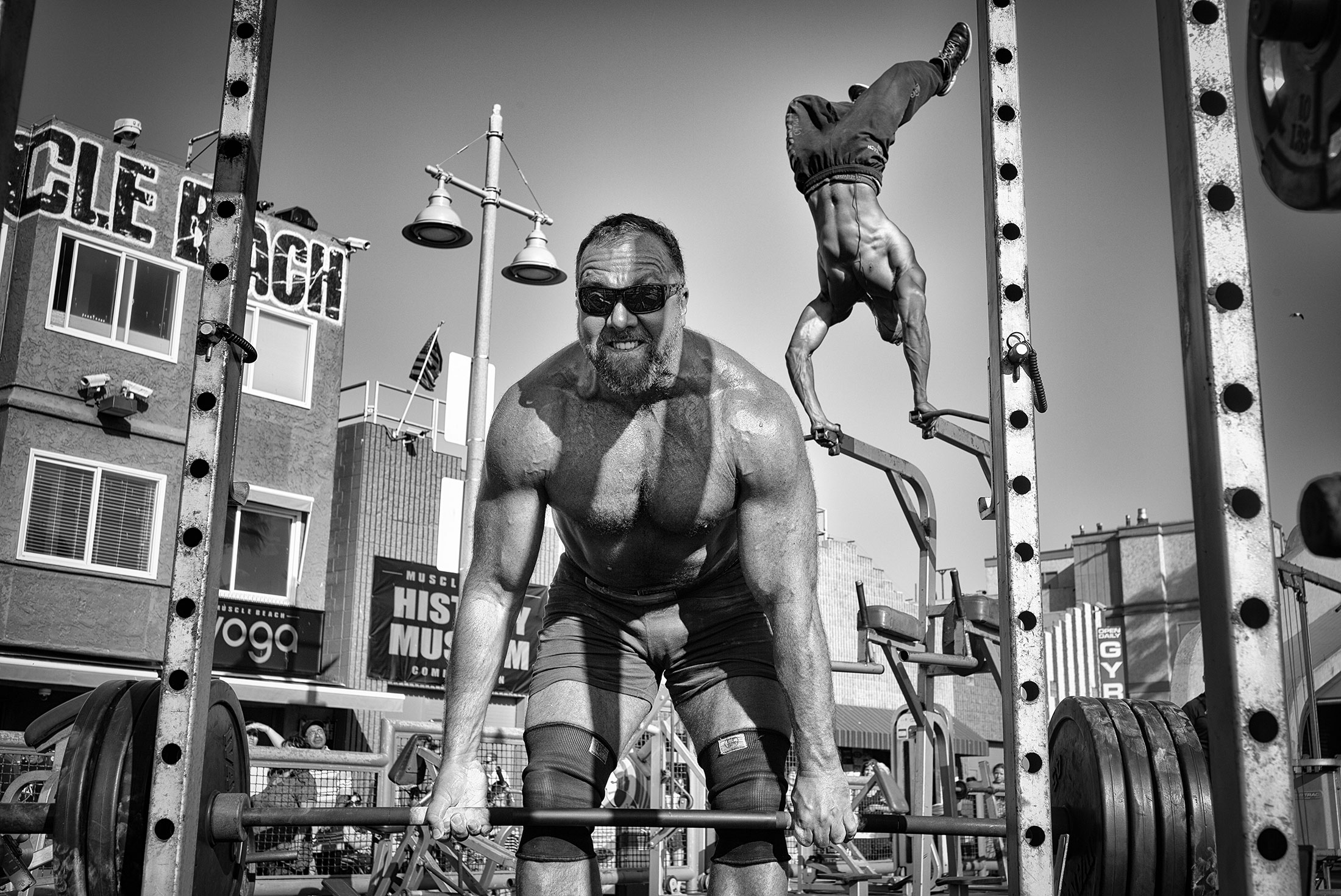 People Honorable Mention: Muscle Beach Gym