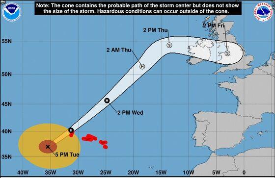 Record-Setting Hurricane Lorenzo Takes Direct Aim at Ireland