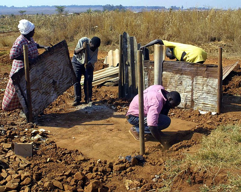 """WITH AFP STORY """" For Zimbabwe's demoliti"""