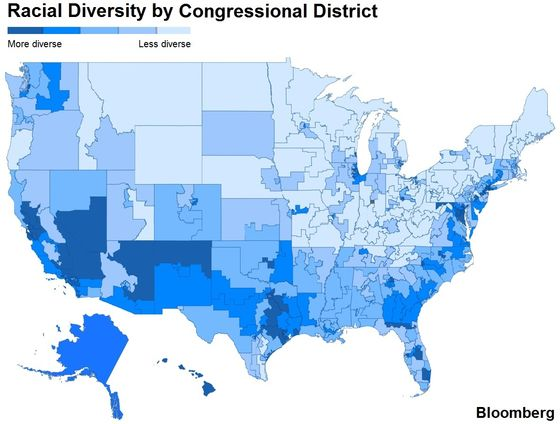 Ascent of a More Diverse Democratic House: Demographic Trends