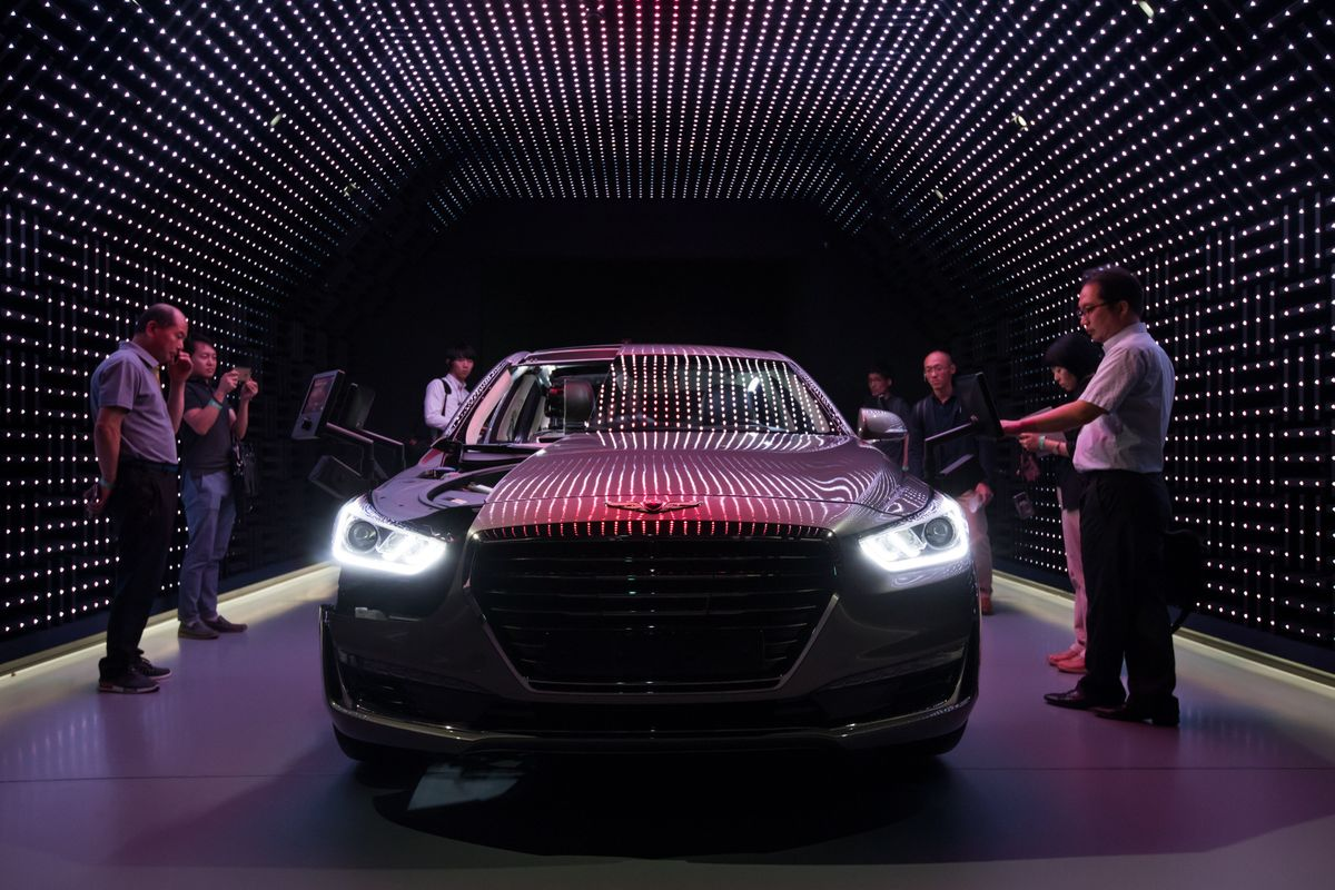 Luxury Car Ranks Upended As Genesis Tops Germany S Stalwarts Bloomberg