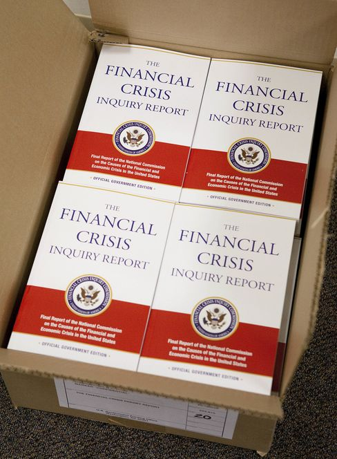 'The Financial Crisis Inquiry Report'