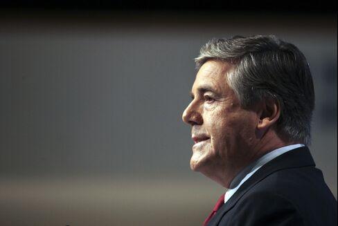 Deutsche Bank Chief Executive Officer Josef Ackermann