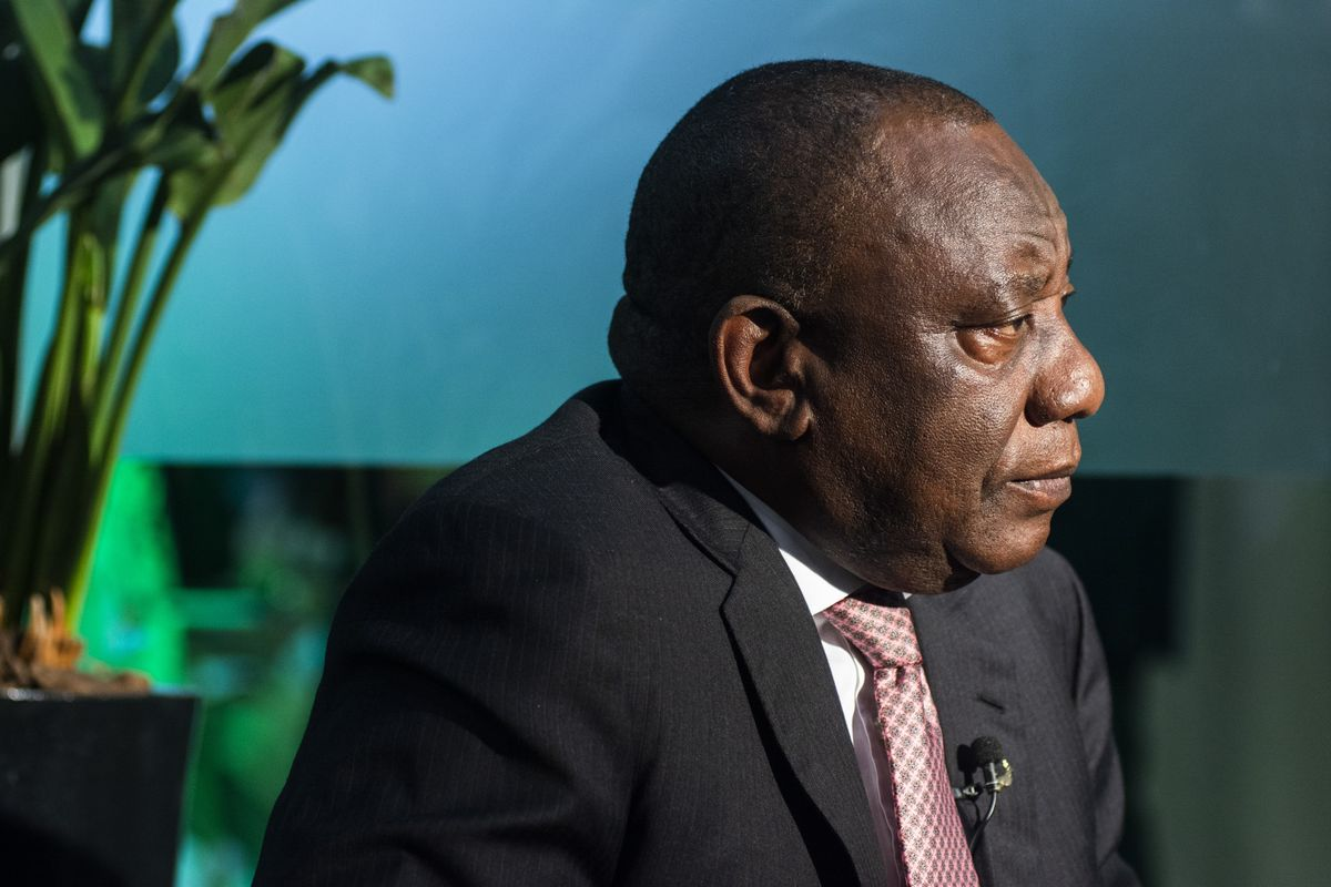 Graft Shows Ramaphosa's Shaky Hold on South Africa's ANC