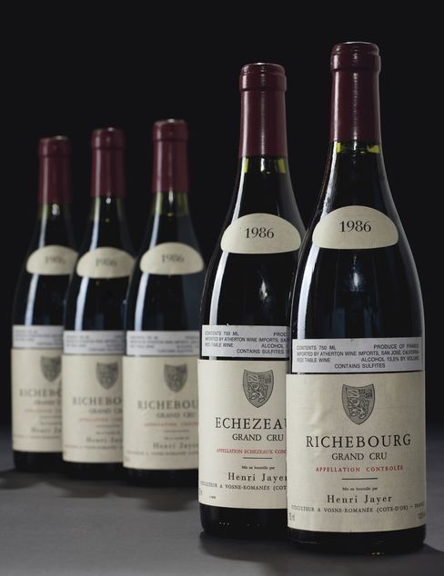 Richebourg Vintage 1986 Bottles Cote de Nuits, H. Jayer