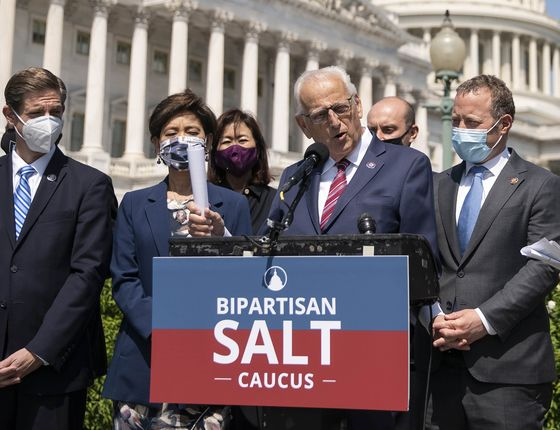 SALT Cap Rollback for Two Years Debated by House Democrats
