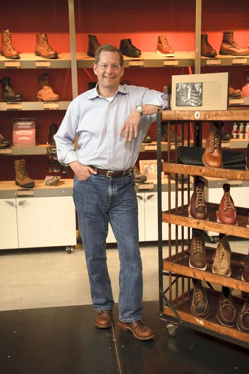 Red Wing Shoe Company President Dave Murphy