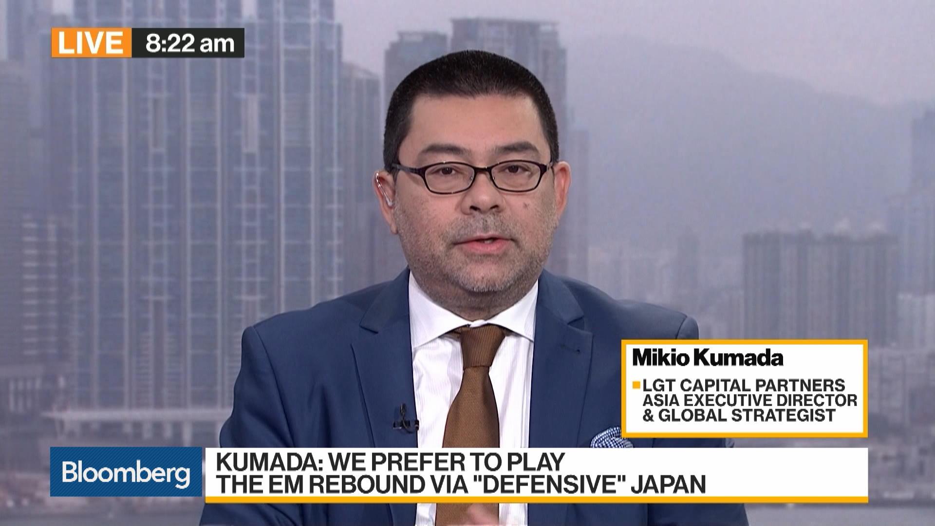 Mikio Kumada, strategist at LGT Capital Partners, on Markets, BOJ