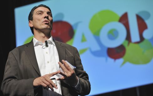 CEO of AOL Tim Armstrong
