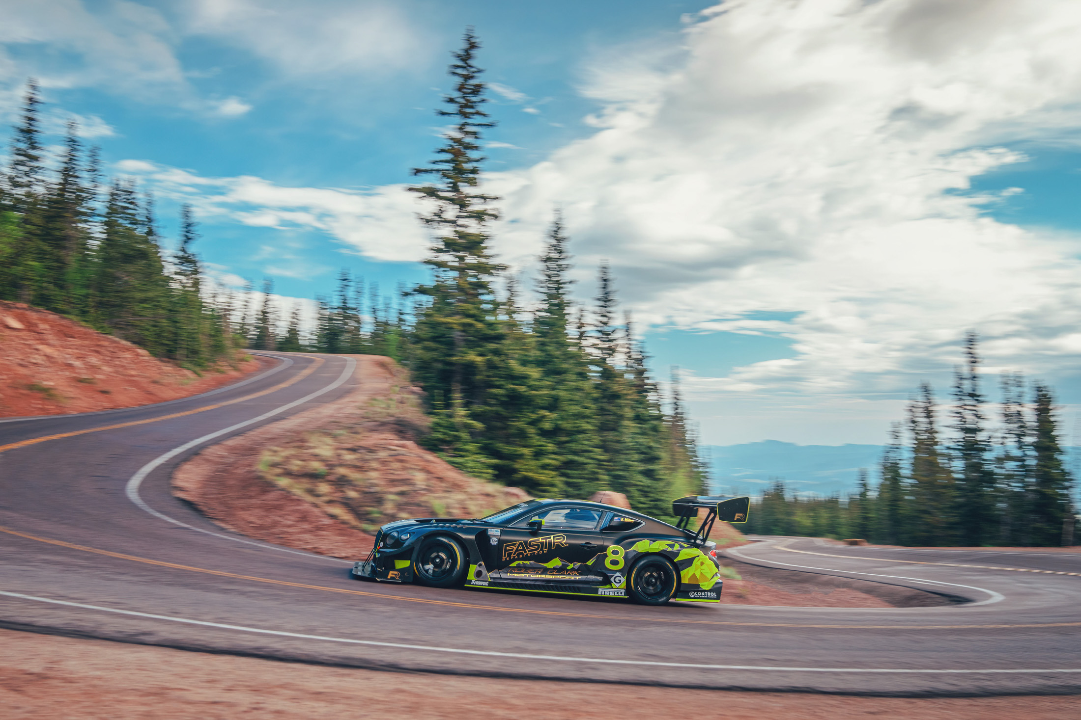 relates to Bentley Tests Its Futuristic Biofuel by Climbing Up Pike's Peak