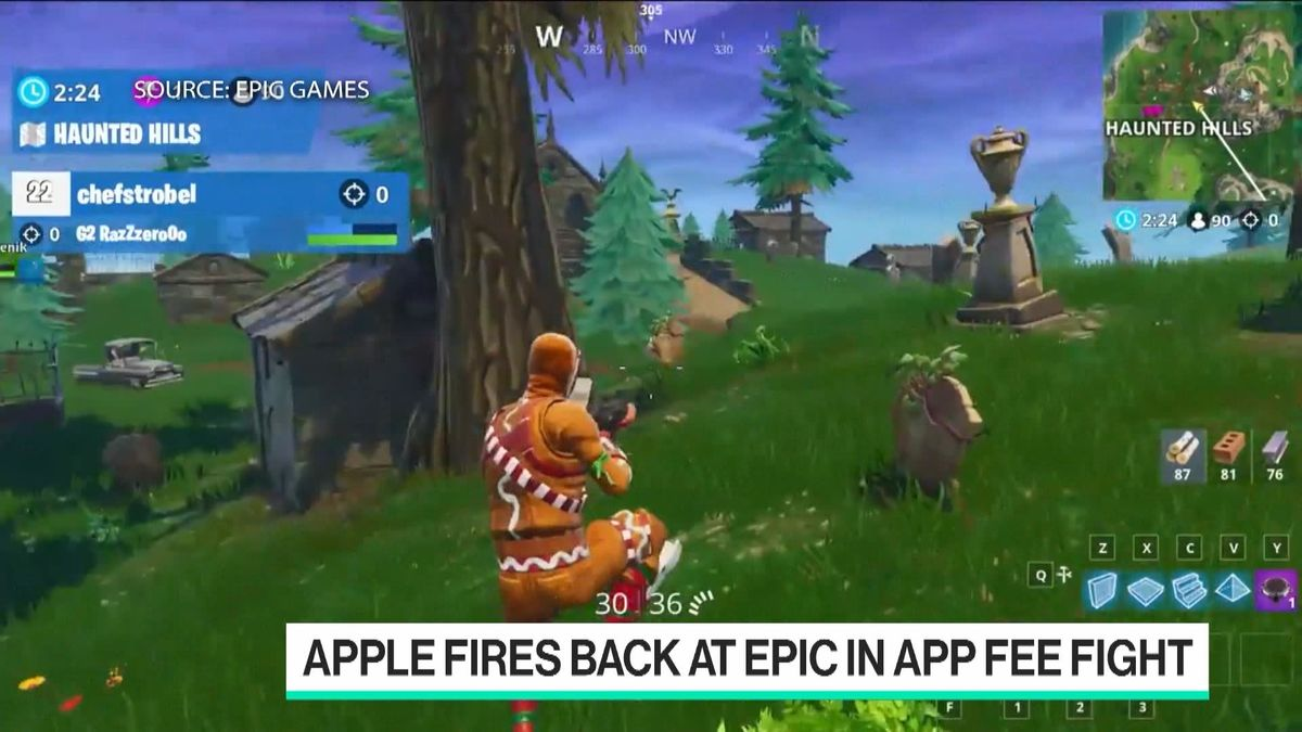 Apple Fires Back at Epic in App Fee Fight