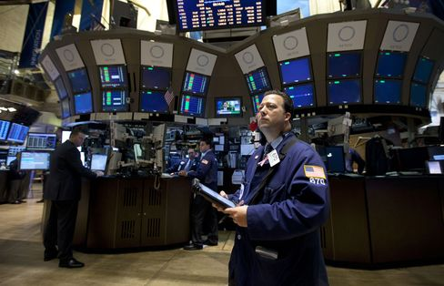 U.S. Stock Futures Drop as S&P Heads for Best Month