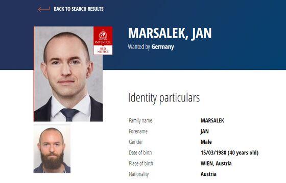 Wirecard's Jan Marsalek Added to Interpol's Most Wanted List