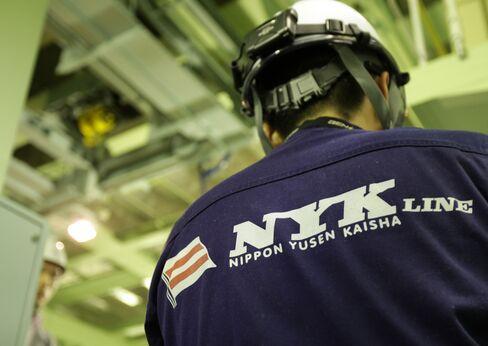 Yen Slide Set to Give Japan Shipping Lines $500 Million Bonanza