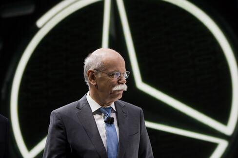 Daimler AG Chief Executive Officer Dieter Zetsche