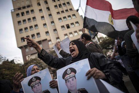 Abdel-Fattah al-Seesi Supporters