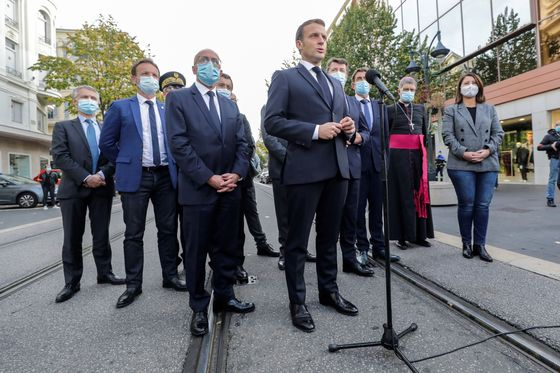 Macron Tempers Tone on Islamic Extremism After Terrorist Attack