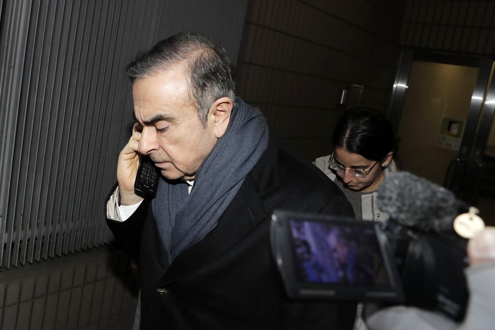 Nissan Files Criminal Complaint Against Ghosn for Use of Funds