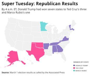 Republican Map