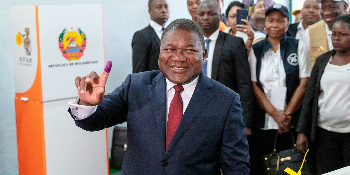 Mozambique's President Nyusi Leading Poll in Early Counting