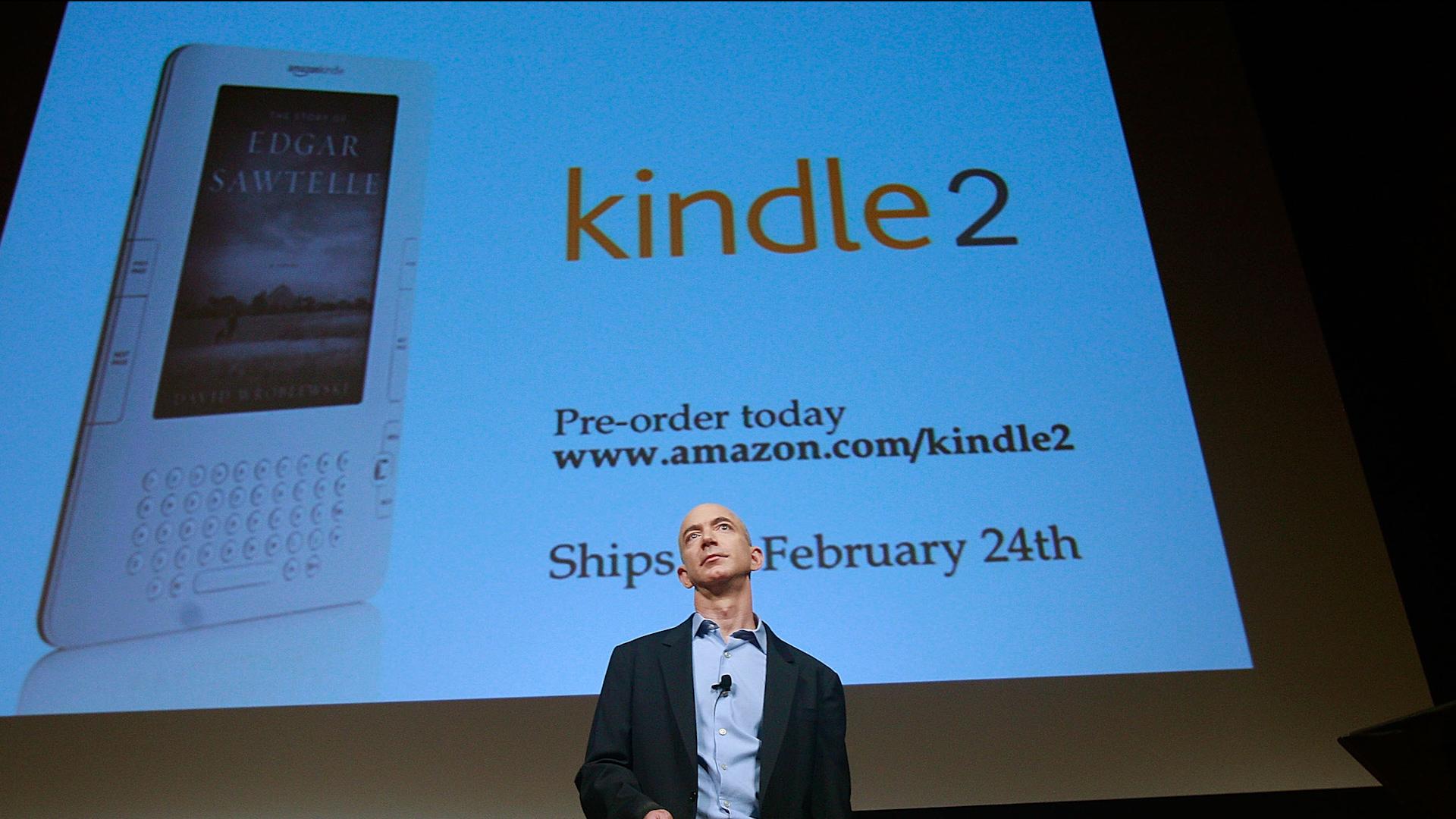 Amazon - Magazine cover