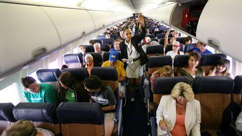 Southwest passengers in San Diego.