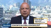 relates to S. Africa Considering Other Mechanisms to Help Eskom, Says Gordhan