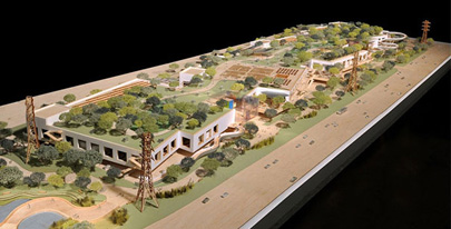 Facebook's extension: The roof will have hiking trails