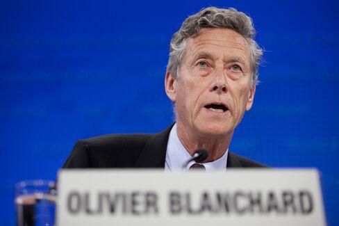International Monetary Fund Chief Economist Olivier Blanchard