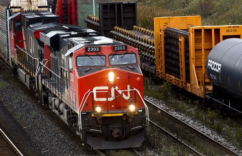 Rail Traffic Boom Shows Canada May Beat Growth Outlook