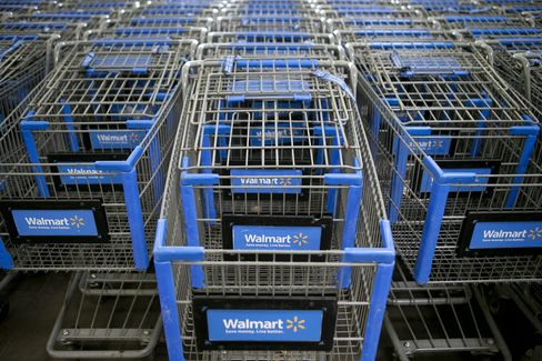 Wal-Mart Profit Forecast Trails Estimates as Sales Gains Slow