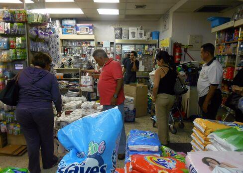 Chavez Price Caps Spark Panic Buying of Coffee, Toilet Paper