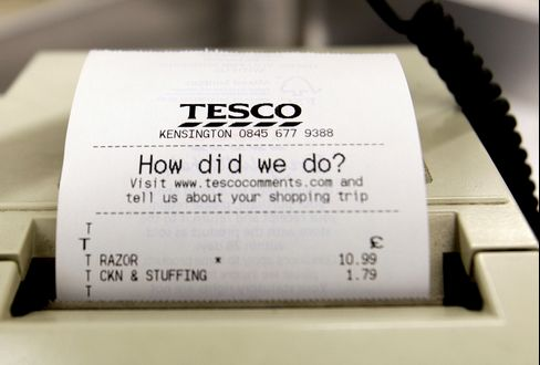 Tesco Drops After Morgan Stanley Downgrades Stock