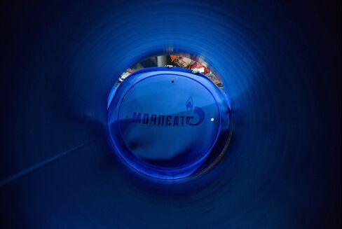 Gazprom Surging