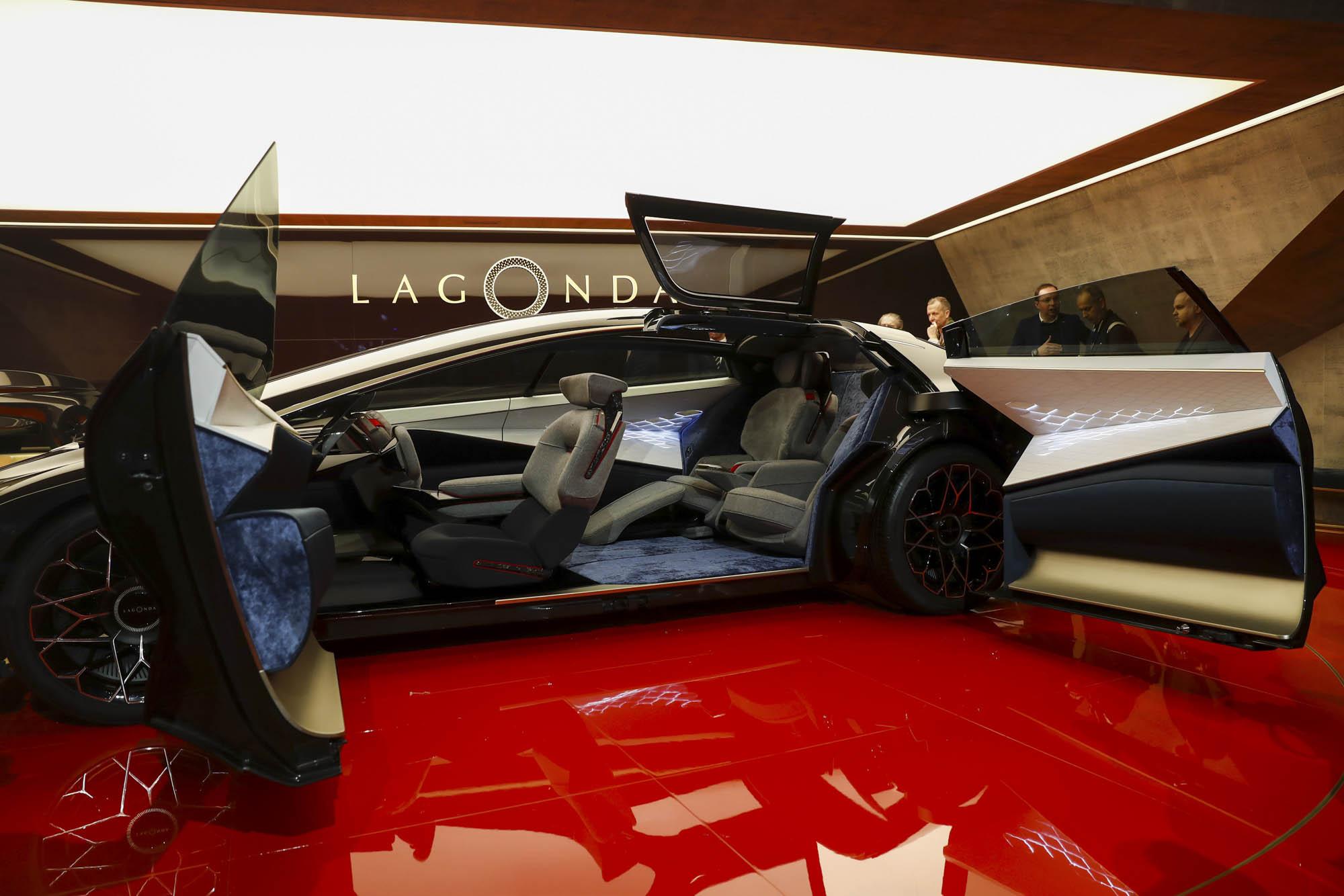 Aston Martin Lagonda. Фото: Bloomberg