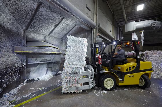 American Consumers Might Save Paper Recycling