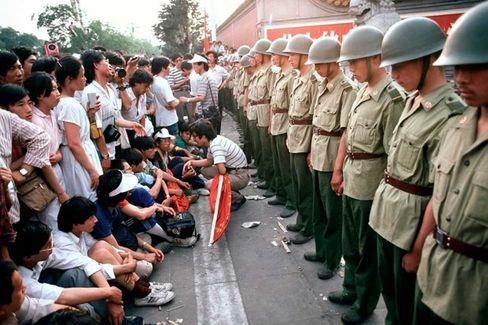 Google Blocked as China Beefs Up Security on Tiananmen's 25th Anniversary