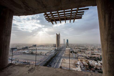 Riyadh City Skyline, Construction And King Abdullah Financial District