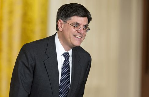 U.S. Treasury Secretary Nominee Jack Lew