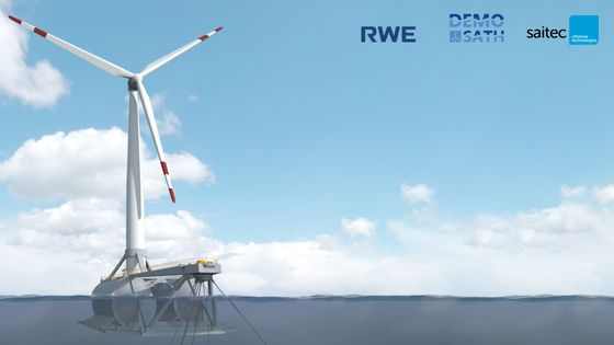 RWE Backs New Design in Race for Future of Floating Wind Parks