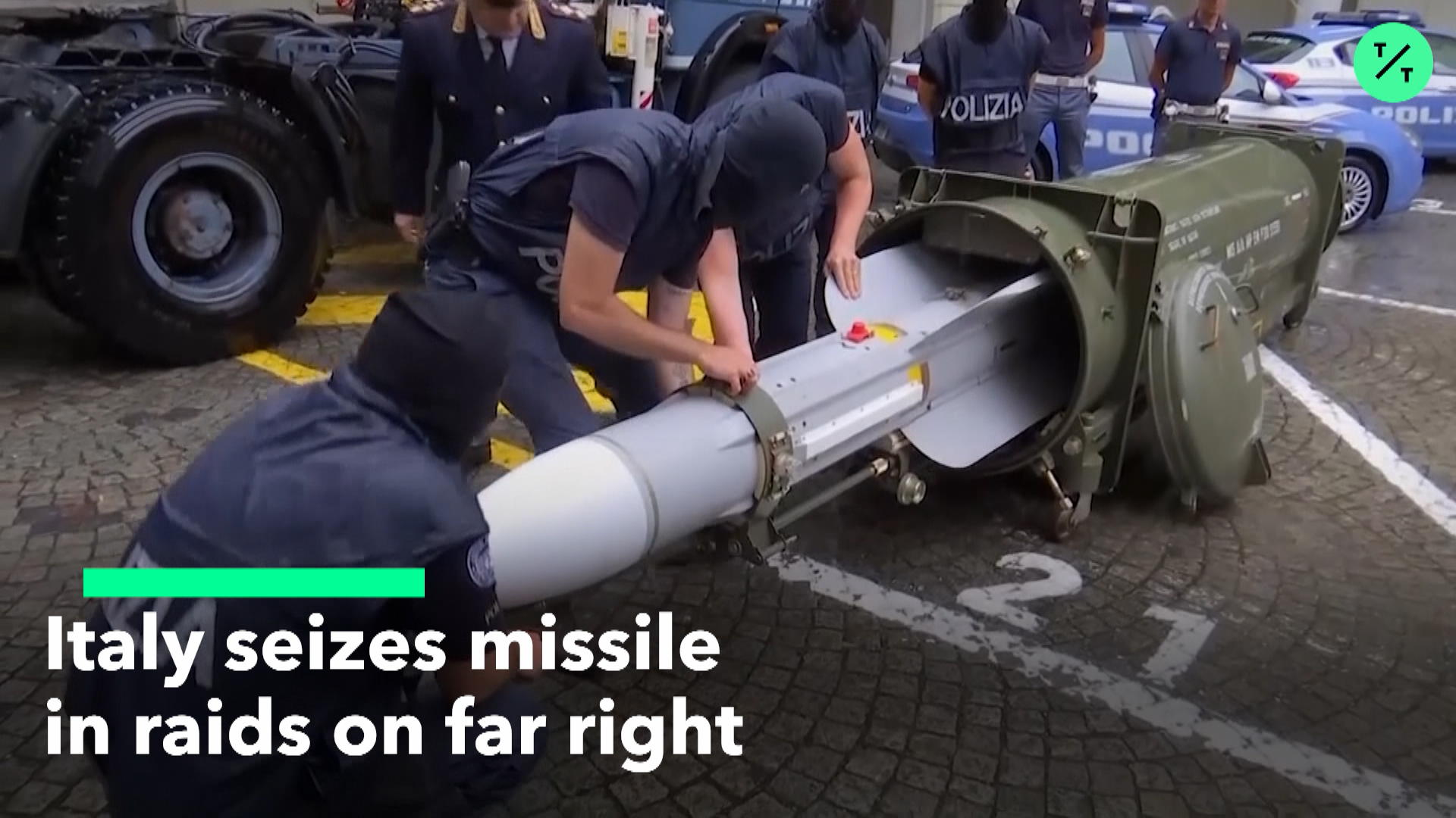 Italy Seizes Missile, Nazi Propaganda