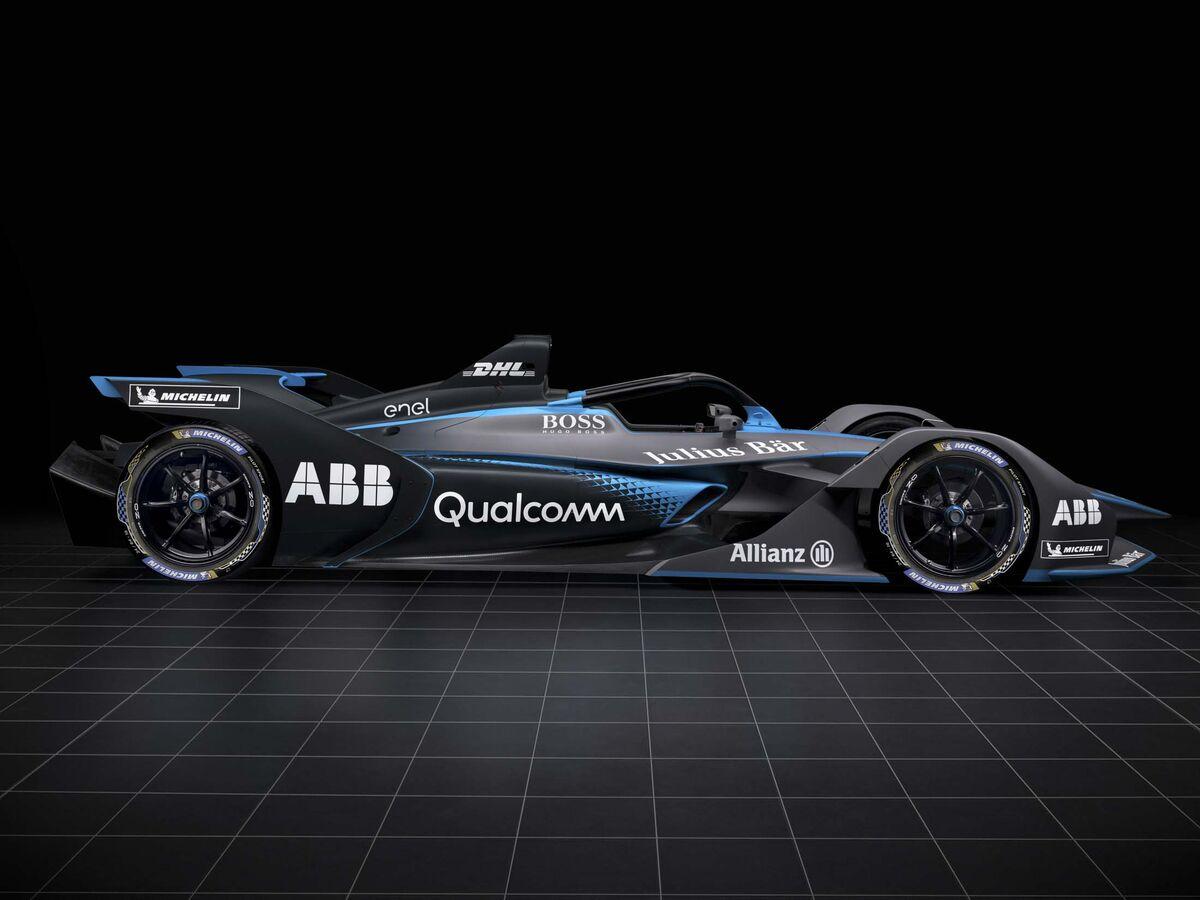 Take a Peek at the Insane Formula E Race Car That Debuts Next Month