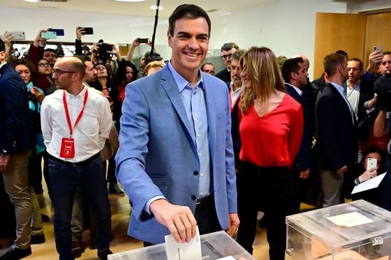Voting Begins in Spain With Prime Minister in Tight Contest