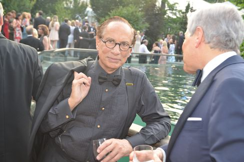 Leonard Stern, the namesake of New York University's business school. Photographer: Amanda Gordon/Bloomberg