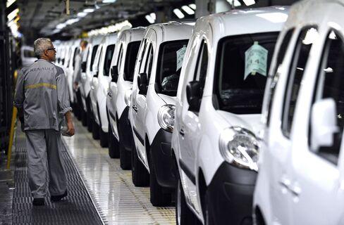 European Car Sales Decline Most Since October 2010
