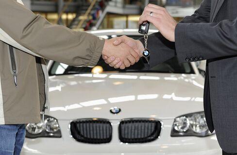 BMW to Mercedes Seek New Cash in Used Cars in German Slump