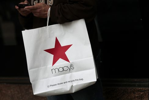Macy's Leads Biggest Same-Store Sales Gain Since September 2011