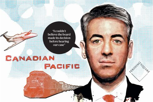 Bill Ackman on Seeking a New CEO at Canadian Pacific