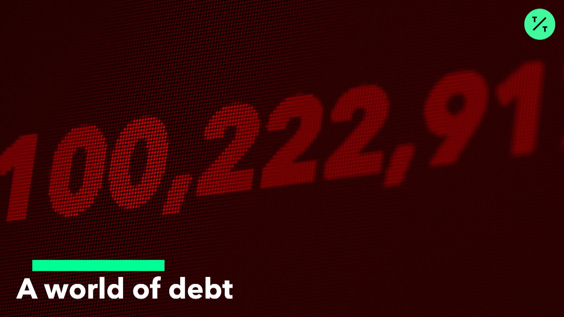 A World of Debt