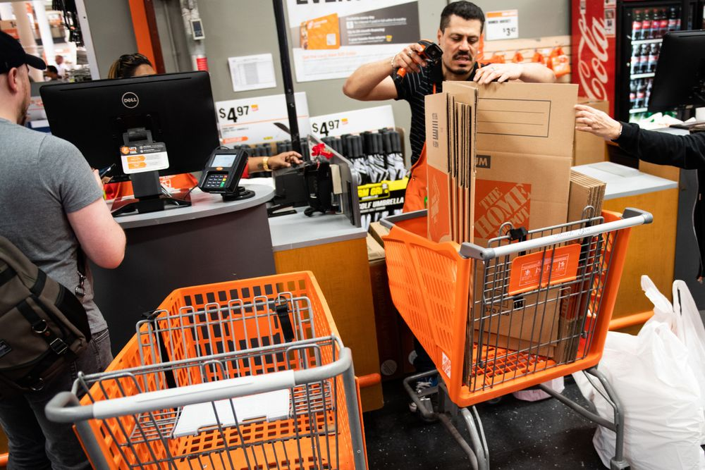 Home Depot Earnings No Housing Alarms Bloomberg